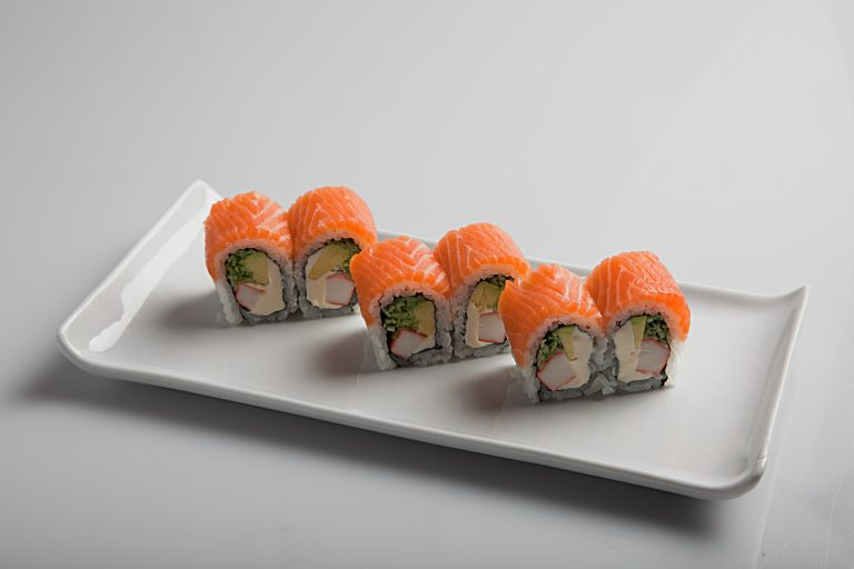 1-salmon roll